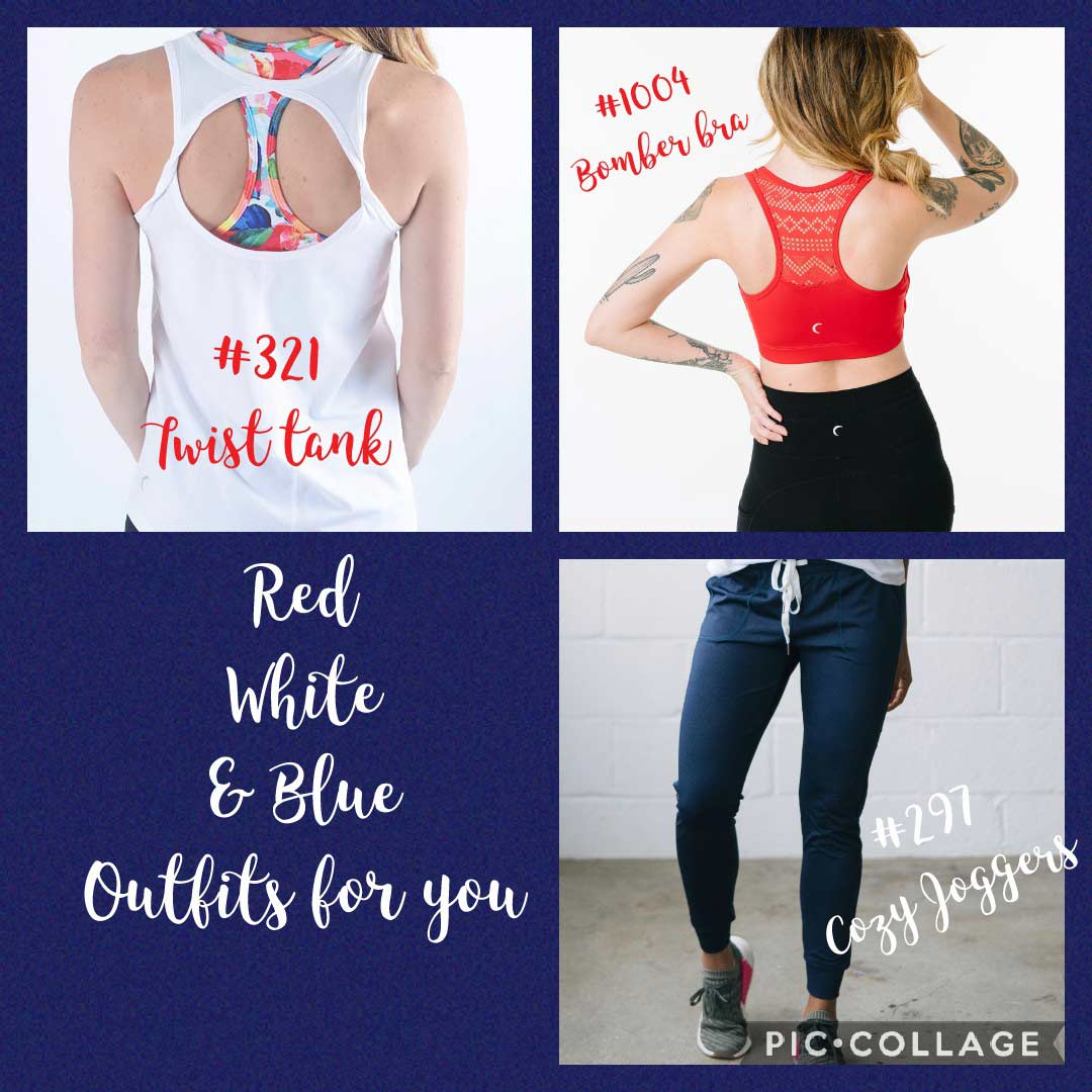 zyia active wear womens tank top and leggings