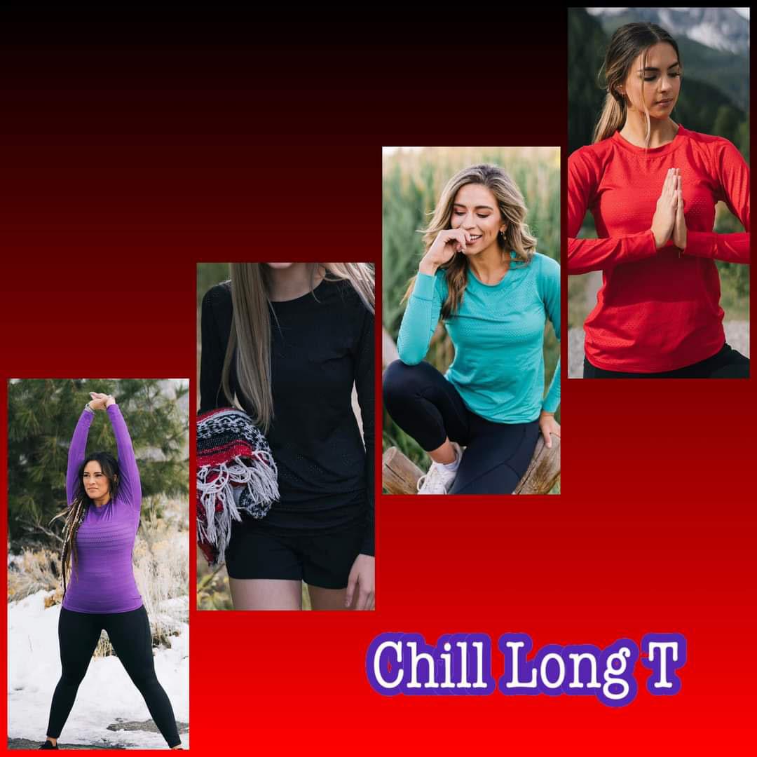 zyia chill long t-shirt